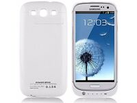 Samsung Galaxy S3 SIII Mobile Phone Power Case Wireless Charging £14.99