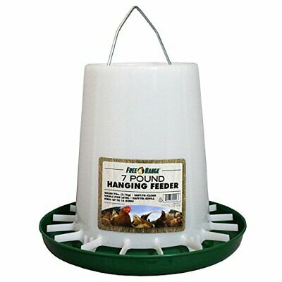 Free Range Plastic Hanging Poultry Feeder