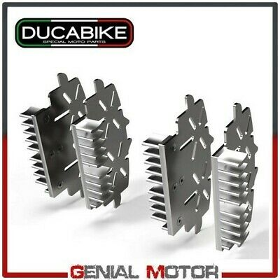 Caliper Heatsinks Brake Silvr Ducabike Ducati Hypermotard 1100 EvoSP 2010 > 2012