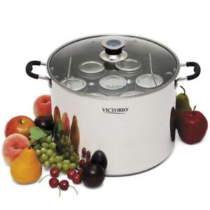 New NIB VictoriO Mult-Use Canner Stainless Steel Induction