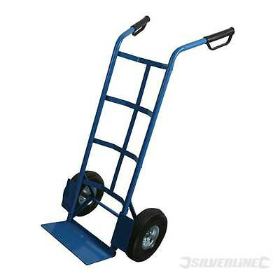 Heavy Duty Sack Truck 250kg Tubular steel frame with pneumatic treated tyres