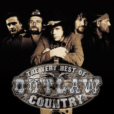 The Very Best of Outlaw Country by Various Artists CD, Apr-2008, Sony (The Very Best Of Outlaw Country)
