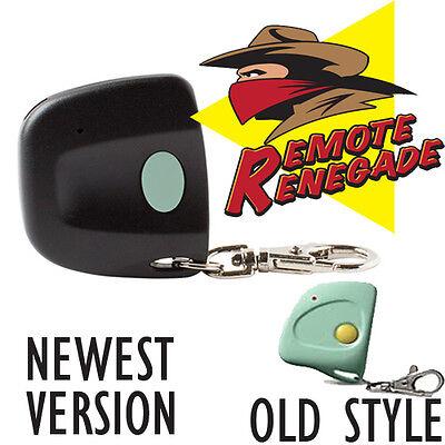 Genie GT90 Compatible Firefly 390GED21K Keychain Remote 390MHz 12 Dip Switch