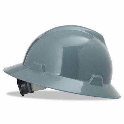 Msa V-gard Hard Hat Wratchet Suspension Size 6 12 - 8 Gray Msa475367
