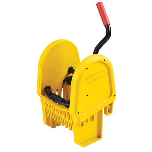 Rubbermaid FG757588YEL Down Press Wringer For Wavebrake Mop Buckets, Yellow