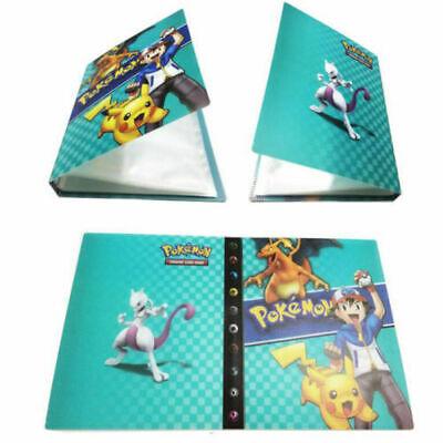 Pokemon Card Binder Portfolio Pocket Album Books Portfolio 240 Holder Ashgreen