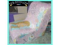 Disney Frozen Character Themed Gaming Style Chair