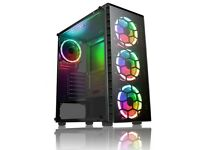 1 Year Warranty New Gaming PC Computer 240 Solid State Drive Intel i5 9th Gen 8 GB Ram Nvidia GT710