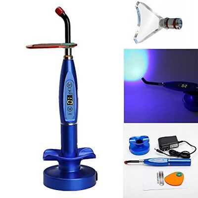 Dental 5w Wireless Cordless Led Curing Light 1500mw With Whitening Tip Blue