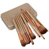 New 12pcs Makeup Cosmetic Brushes Set Powder Foundation Eyeshadow Lip Brush USA