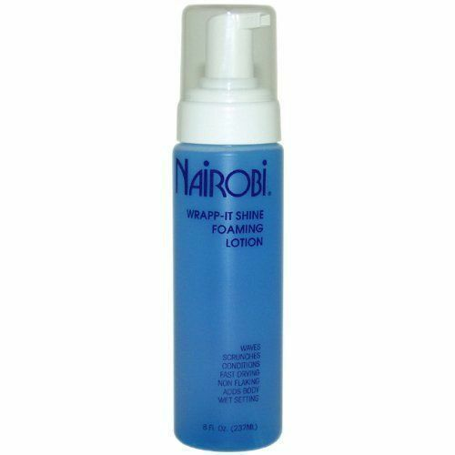 Nairobi Wrap-It Shine Foaming Lotion 8 oz Hair Care & Styling