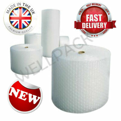 500MM x 100M CUSHIONING QUALITY SMALL BUBBLE WRAP 100 METERS LONG ROLL FREE DEL*