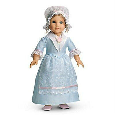 American Girl ELIZABETH'S blue TEA LESSON GOWN dress  DOLL NOT INCLUDED
