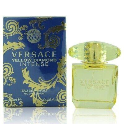 VERSACE YELLOW DIAMOND INTENSE Versace 1.0 OZ EAU DE PARFUM SPRAY NEW Box Women