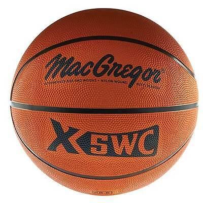 "MacGregor® Intermediate Size (28.5"") Rubber Basketball"