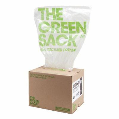 The Green Sack Medium Duty Refuse Sack Clear 737W x 965Lmm 75 Per Box