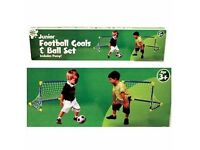 Junior Football & Goal Set - Brand New - Kilmarnock Area