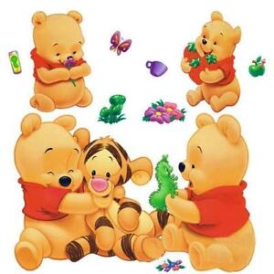 winnie the pooh wall stickers ebay. Black Bedroom Furniture Sets. Home Design Ideas