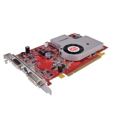 Ati Firegl V5000 128Mb Ddr3 Pci Express  Pcie  Dual Dvi Video Card Brand New Oem