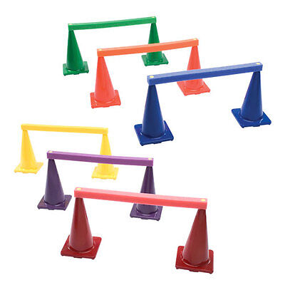 "Ultrasof® Foam Crossbar Set - 6 Crossbars + 12 Matching 18"" Cones"