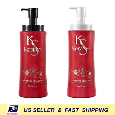 [ KERASYS ] Oriental Premium Shampoo / Conditioner 600g +Free (Free Samples Shampoo Conditioner)