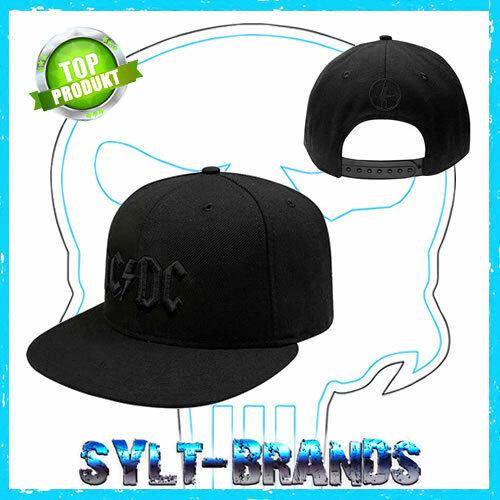 AC/DC Snapback Cap Kappe Basecap Baseballcap Beanie Mütze Gorra Hat Hut Caps