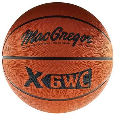 Macgregor Rubber Basketball  Official Size  New