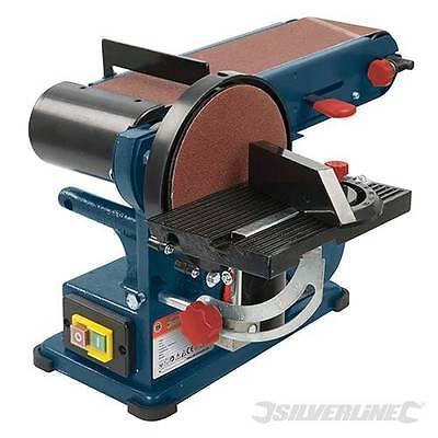 """350W Bench Belt & Disc Sander 390mm 15"""" Comination Sander Sanding Tool  972660"""