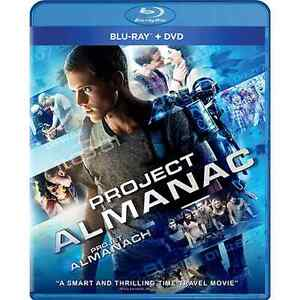 Project Almanac / Projet Almanach (BLU-RAY + DVD + DIGITAL HD)
