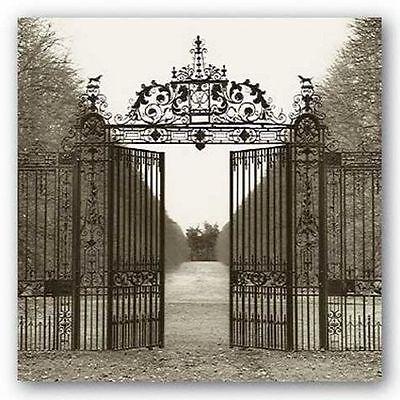 PHOTOGRAPHY ART PRINT Hampton Gate by Alan Blaustein (Hampton Gate)