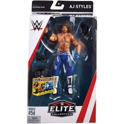 WWE Aj Stili Nxt Mattel Serie 56 Elite Wrestling Action Figure Crudo SD Live