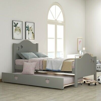 twin size captain bed solid wood twin