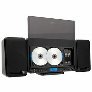 iLive 2-CD Home Music System w/Dock for iPod and MP3 Player