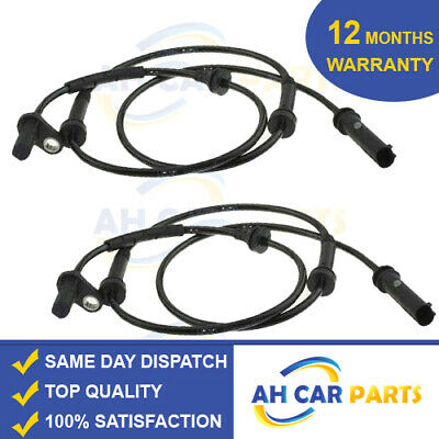 2X ABS SPEED SENSOR BMW X3 F25 X4 F26 2010-ON FRONT DRIVER AND PASSENGER SIDE