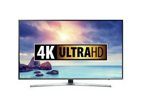 55'' SAMSUNG SMART 4K SUHD HDR LED TV.2016 MODEL UE55KU6470.FREEVIEW/FREESAT HD. FREE DELIVERY