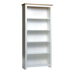 Tall Painted Bookcase