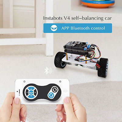 Sainsmart Instabots V4 Upright Rover Kit With Bluetooth Ios Android App Control