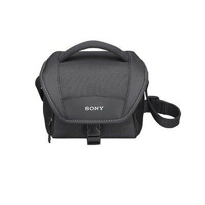 Sony LCS-U11 Soft Carrying Case TRAVEL BAG FOR NEX, HANDYCAM & CYBERSHOT LCSU11