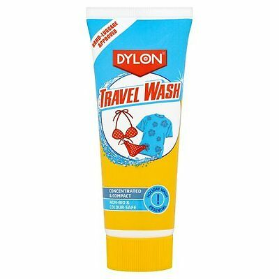 DYLON TRAVEL WASH FABRIC CARE 75ML 20 WASH UK FREE DELIEVRY