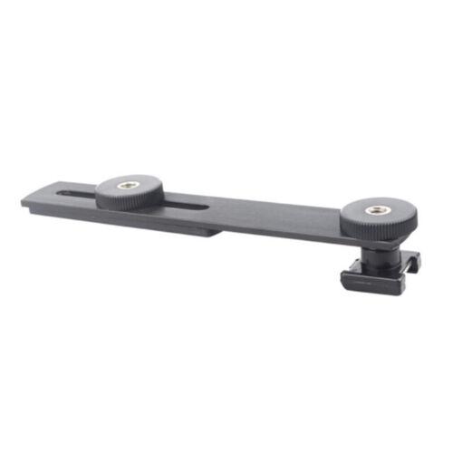 Camera Hot Shoe Flash Bracket For DSLR SLR DC Camera Video DV Camcord DFI
