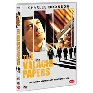 The Valachi Papers (1972) DVD -Charles Bronson (NEW) / NO CASE (Only Cover&Disc)