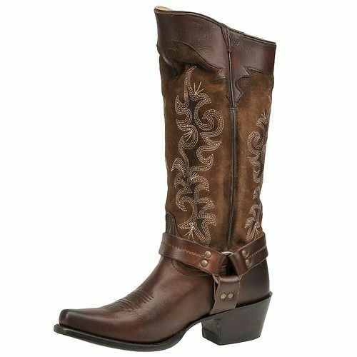 Women's Frye Boots - Cowboy, Black, Harness, Riding | eBay