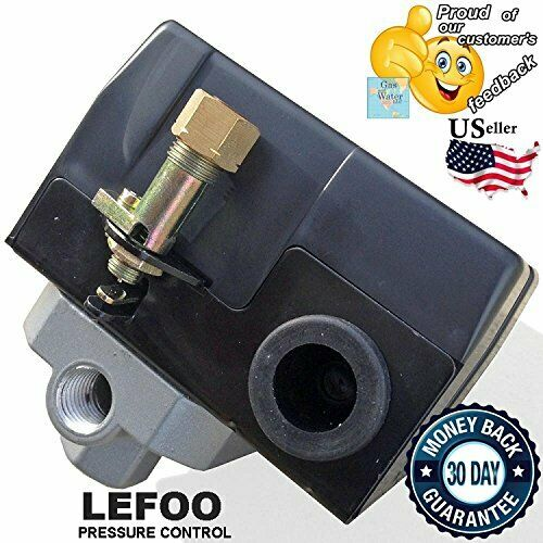 Heavy Duty Pressure Switch for Air Compressor 135-175 psi 26 Amp FOUR 4 Port