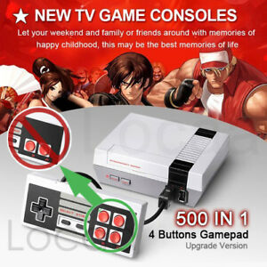 TV Game Console Classic 500 Built-in Games
