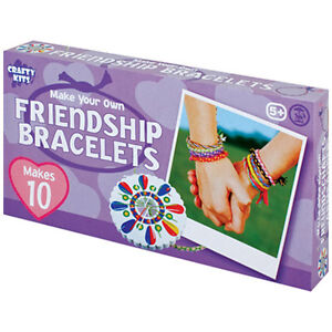MAKE YOUR OWN FRIENDSHIP BRACELET WHEEL ACTIVITY KIT - EDUCATIONAL TOY LEARN FUN