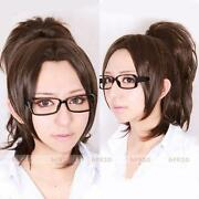 Ponytail Brown Wig Cosplay