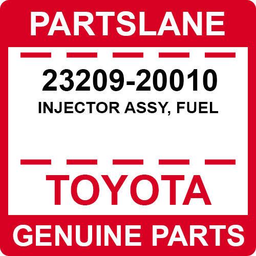 23209-20010 Toyota Oem Genuine Injector Assy, Fuel