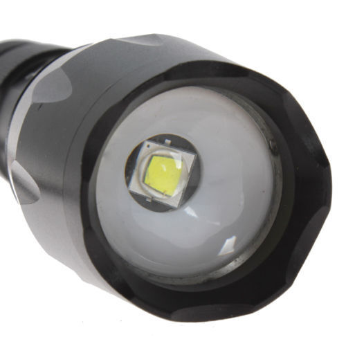 Купить Tactical CREE TC1200 Brightest LED Flashlight on XML2 Torch Rechargeable Battery