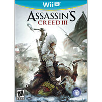 Assassin's Creed III and Batman Arkham Origins for the Wii U