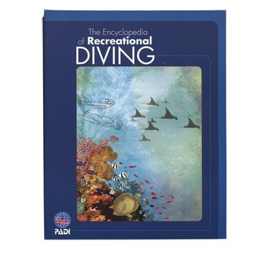 PADI The Encyclopedia of Recreational Diving Book Paperback Product 70034